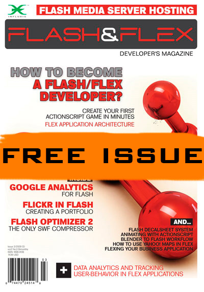 Flash & Flex Magazine Cover 03/2009